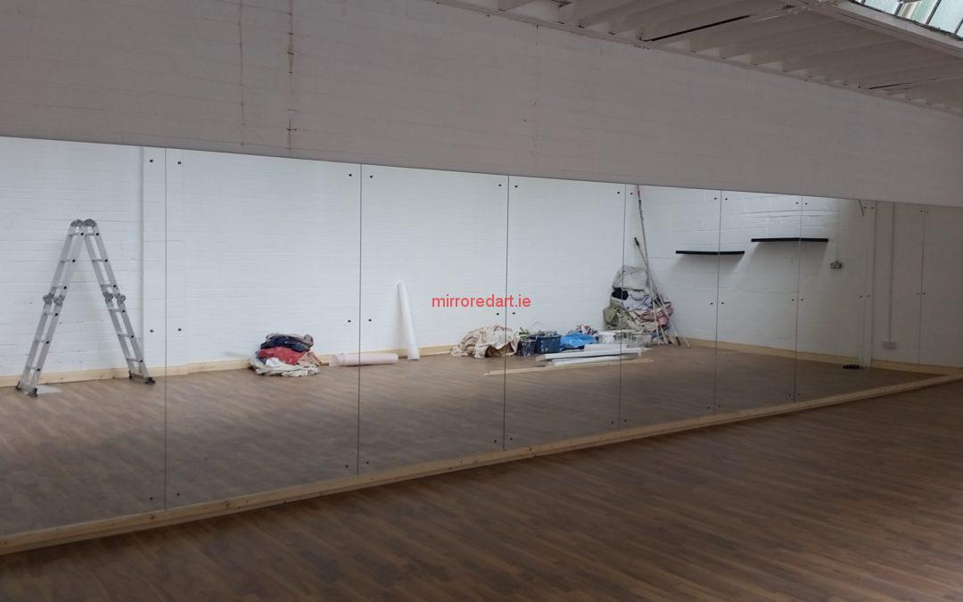 Contemporary dance studio mirrors Lucan Co Dublin