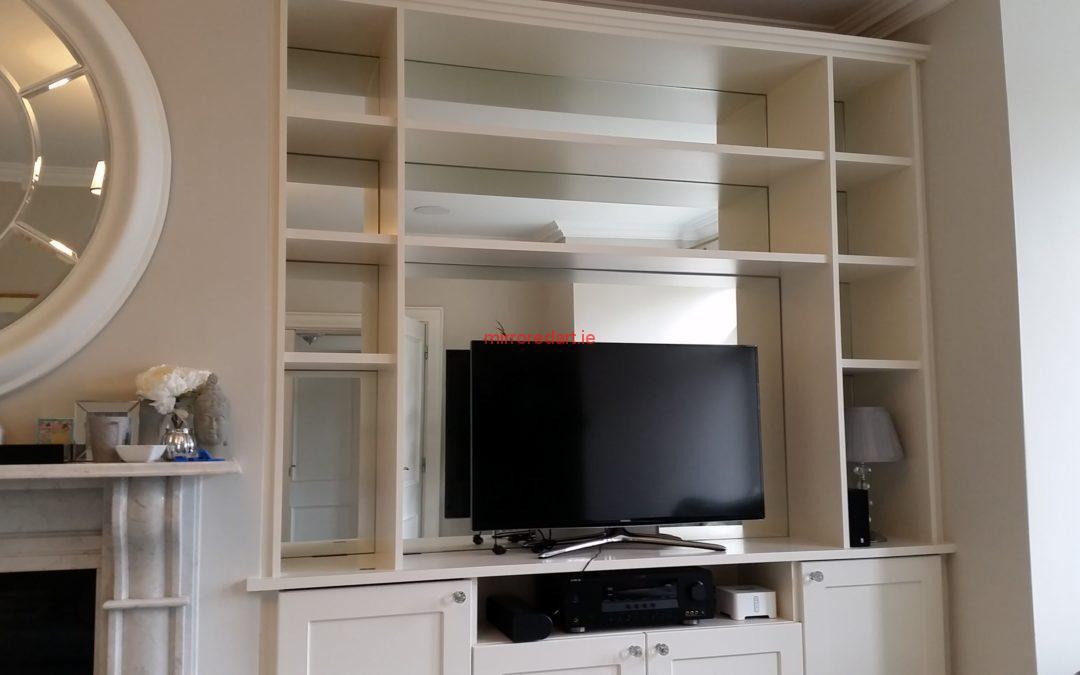 Mirrored bookshelves  Lucan