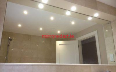 Full wall bathroom mirror   Castleknock  Dublin