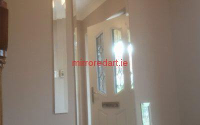 A 5 piece bevelled mirror set separated.  Dundrum  Dublin.