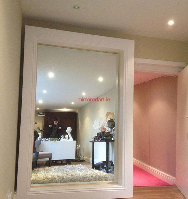 A full size mirror we did for a Milner in Fitzwilliam street upper.